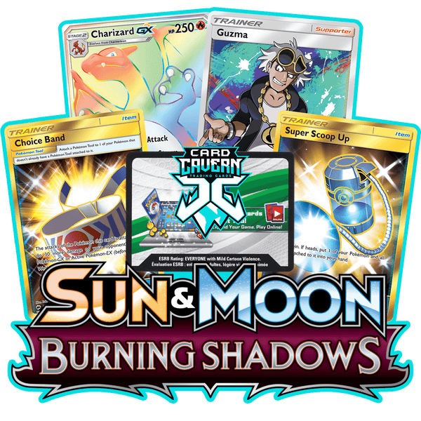 Burning Shadows PTCGO Code - Card Cavern