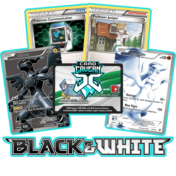 Black & White Base PTCGO Code - Card Cavern