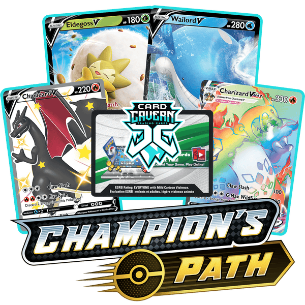 Champion's Path PTCGO Code - Card Cavern