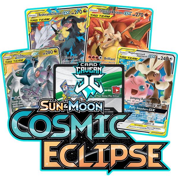Cosmic Eclipse PTCGO Code - Card Cavern