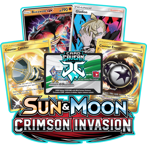 Crimson Invasion PTCGO Code - Card Cavern