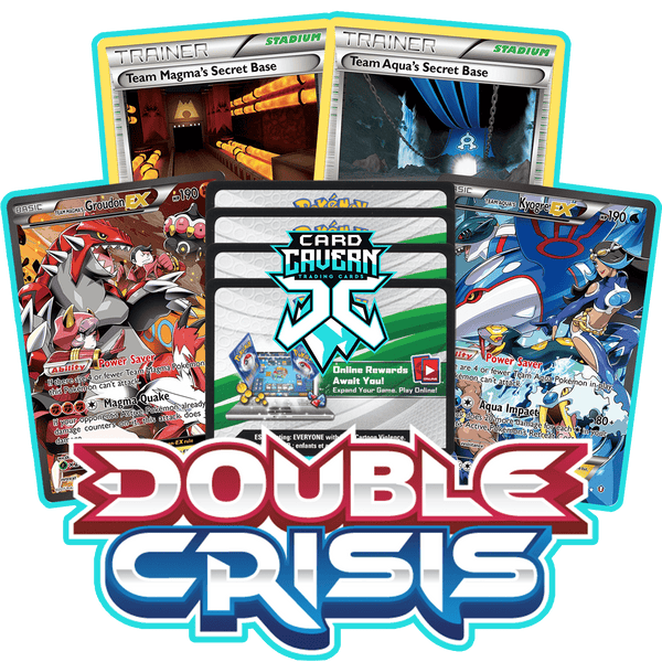 Double Crisis - 4 Packs - PTCGO Code - Card Cavern