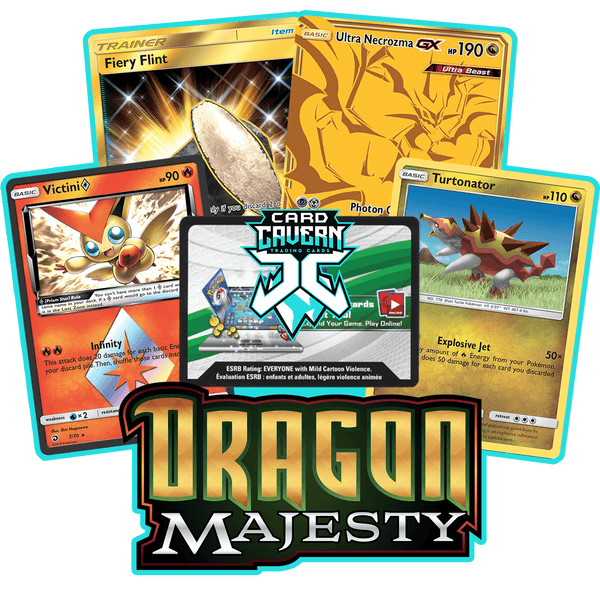Dragon Majesty PTCGO Code - Card Cavern