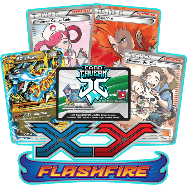 Flashfire PTCGO Code - Card Cavern