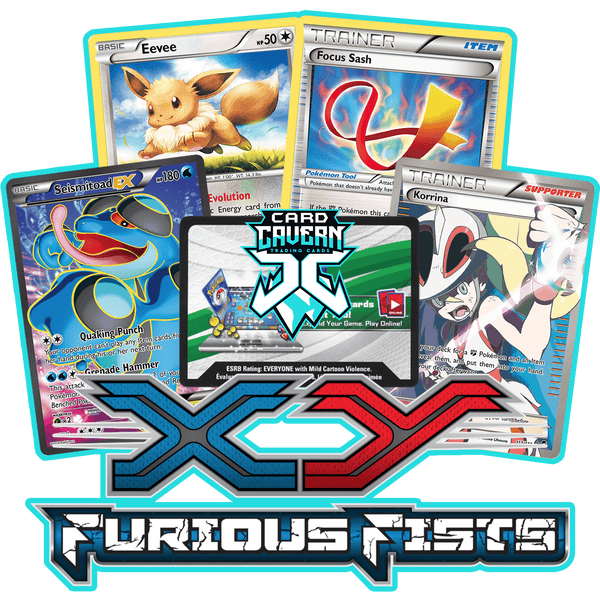Furious Fists PTCGO Code - Card Cavern