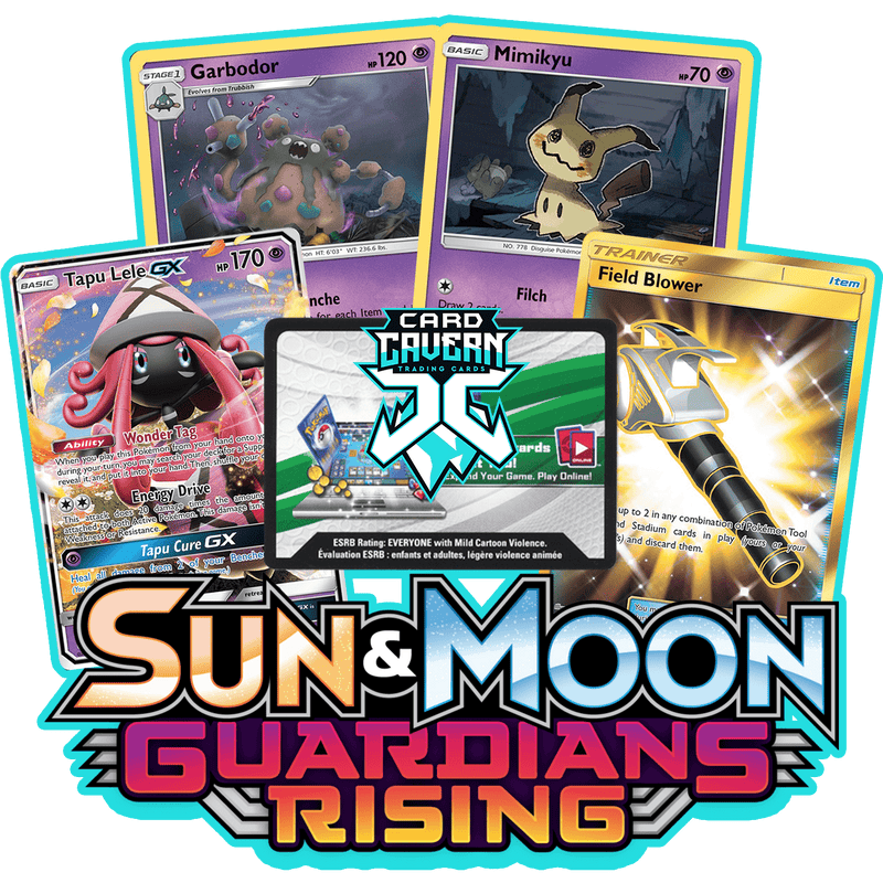 Guardians Rising PTCGO Code - Card Cavern