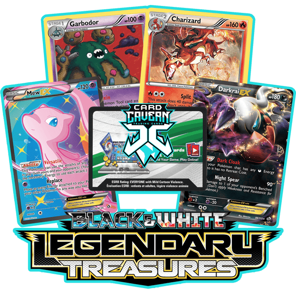 Legendary Treasures PTCGO Code - Card Cavern