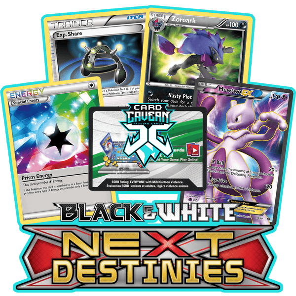 Next Destinies PTCGO Code - Card Cavern