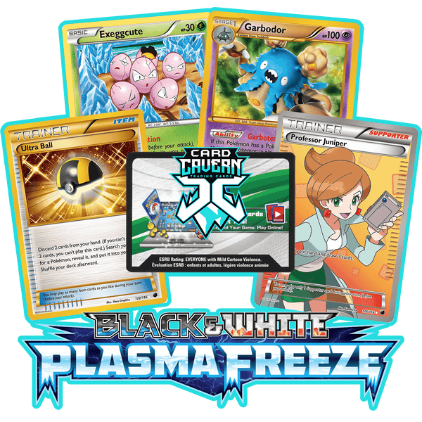 Plasma Freeze PTCGO Code - Card Cavern