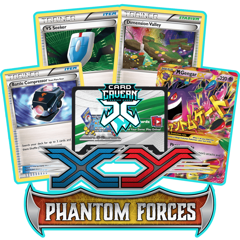 Phantom Forces PTCGO Code - Card Cavern