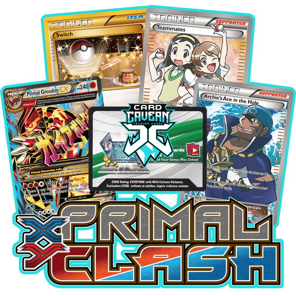 Primal Clash PTCGO Code - Card Cavern