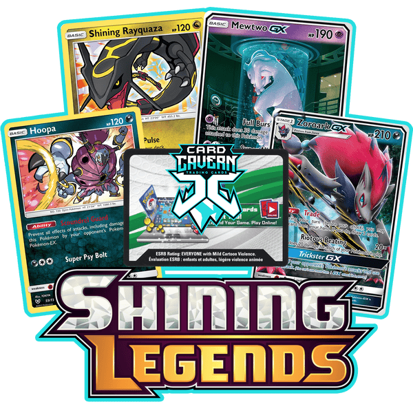 Shining Legends PTCGO Code - Card Cavern