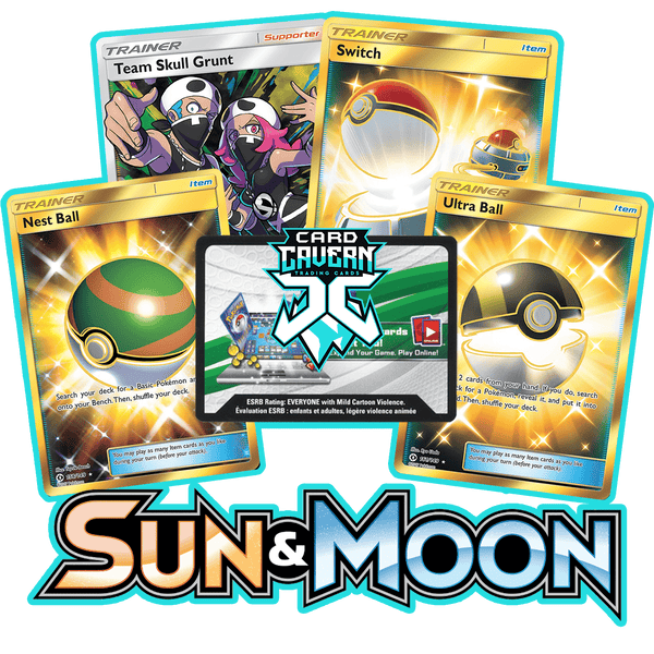 Sun and Moon Base PTCGO Code - Card Cavern