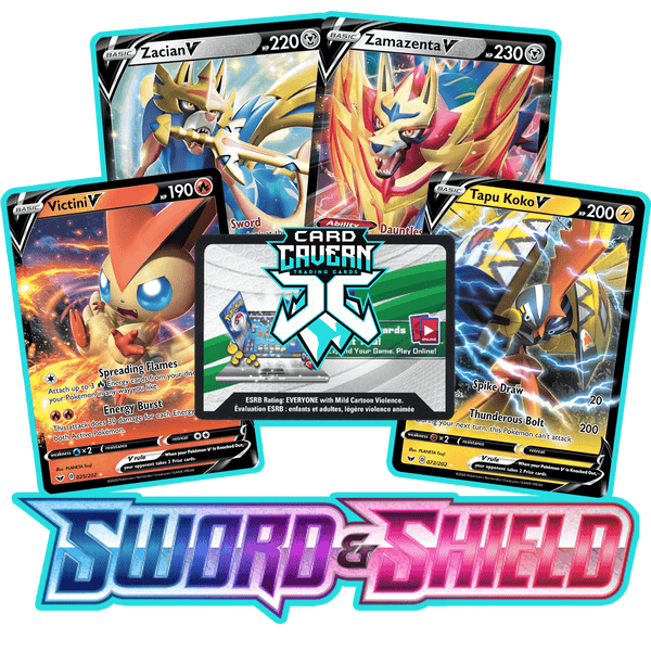 Sword & Shield PTCGO Code - Card Cavern