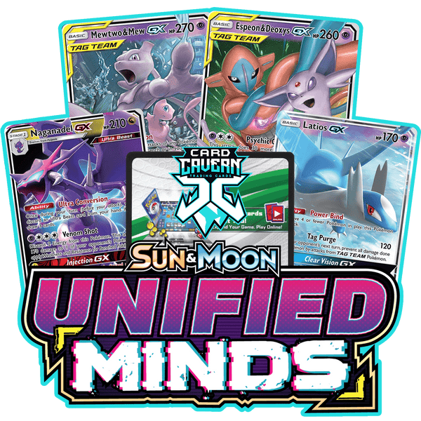 Unified Minds PTCGO Code - Card Cavern