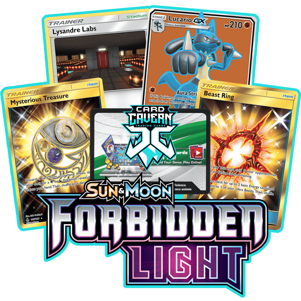Forbidden Light PTCGO Code - Card Cavern