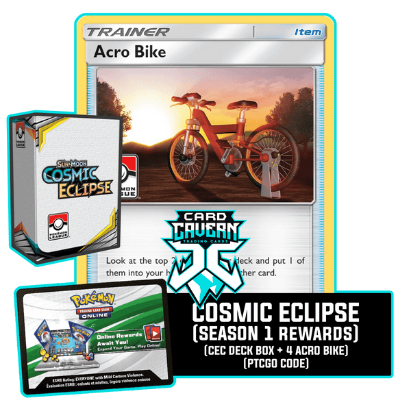 Cosmic Eclipse Season 1 PTCGO Code - Card Cavern