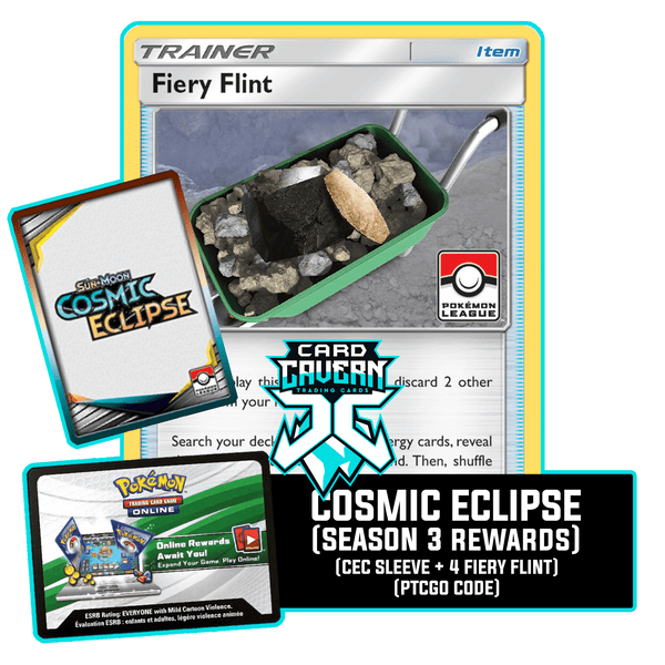 Cosmic Eclipse Season 3 PTCGO Code - Card Cavern