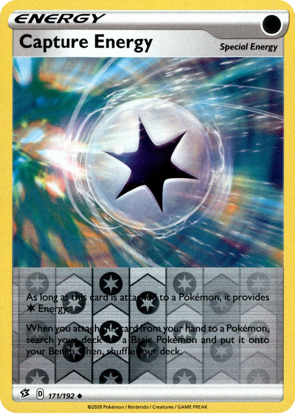 Capture Energy - 171/192 - Rebel Clash - Reverse Holo - Card Cavern