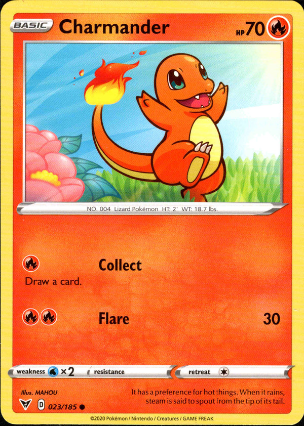 Charmander - 023/185 - Vivid Voltage - Card Cavern