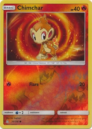 Chimchar - 20/156 - Ultra Prism - Reverse Holo - Card Cavern
