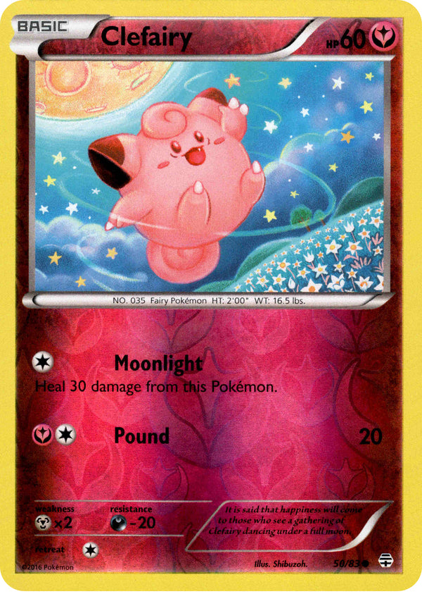 Clefairy - 50/83 - Generations - Reverse Holo - Card Cavern