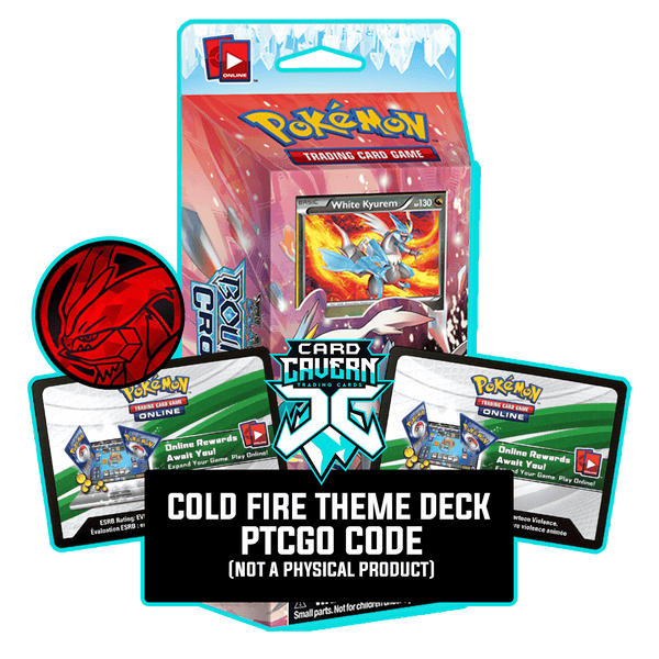 Cold Fire Theme Deck - Boundaries Crossed - PTCGO Code - Card Cavern
