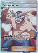 Crasher Wake Full Art - 129/131 - Forbidden Light - Card Cavern