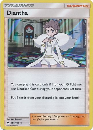 Diantha - 105/131 - Forbidden Light - Holo - Card Cavern