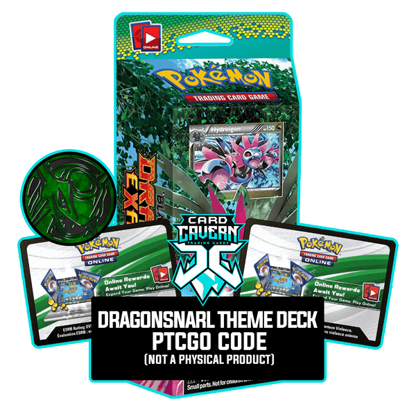 DragonSnarl Theme Deck - Dragons Exalted - PTCGO Code - Card Cavern