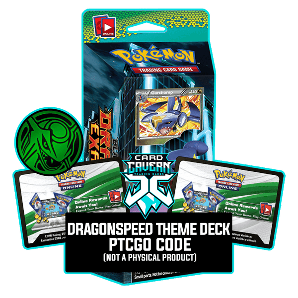 DragonSpeed Theme Deck - Dragons Exalted - PTCGO Code - Card Cavern