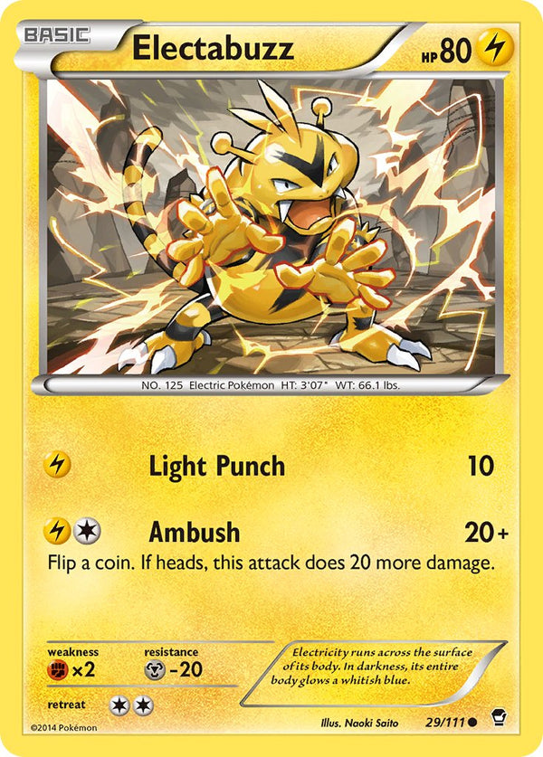 Electabuzz - 29/111 - Furious Fists - Card Cavern