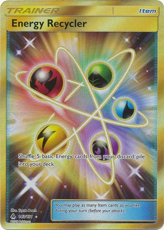Energy Recycler Secret Rare - 143/131 - Forbidden Light - Card Cavern