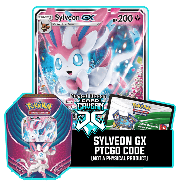 Evolution Celebration Tin: Sylveon GX - Fairy Power Deck - PTCGO Code - Card Cavern