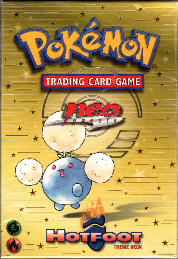 Hotfoot Theme Deck - Neo Genesis - Sealed - Card Cavern