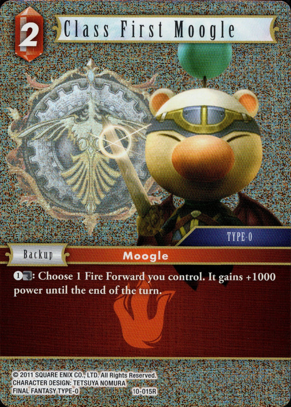 Class First Moogle - 10-015R - Opus X - Foil - Card Cavern