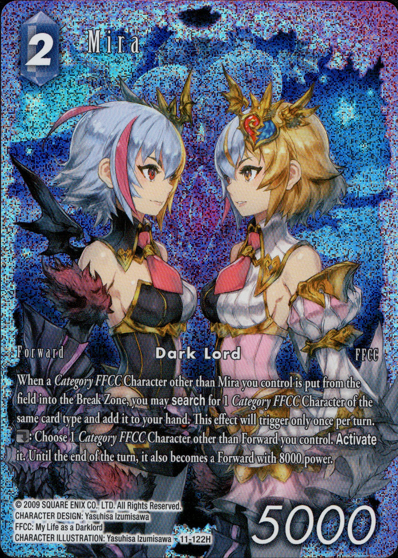 Mira - 11-122H - Opus XI - Full Art - Card Cavern