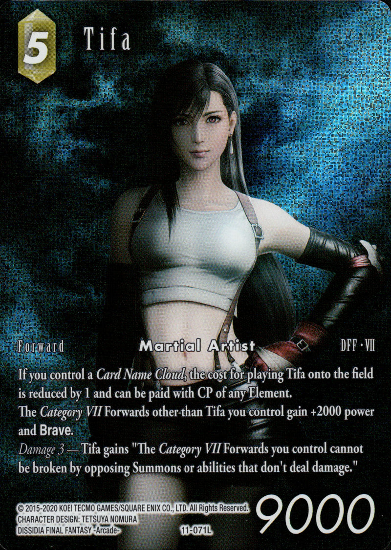 Tifa - 11-071L - Opus XI - Full Art - Card Cavern