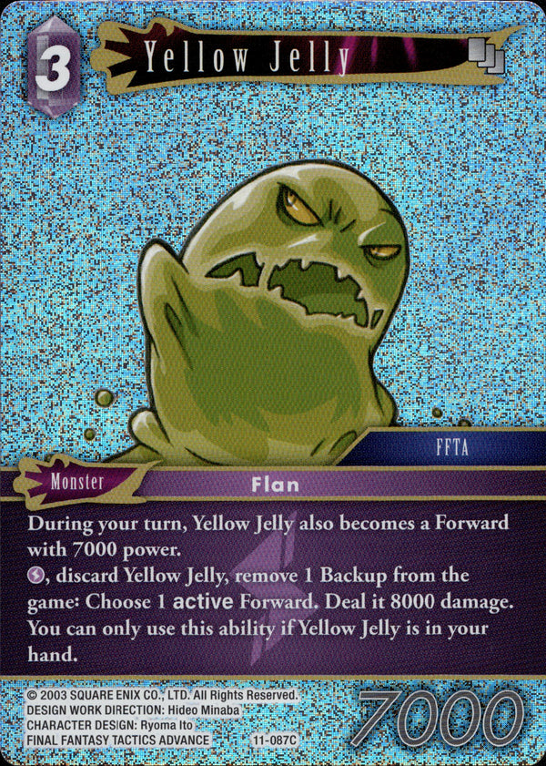 Yellow Jelly - 11-087C - Opus XI - Foil - Card Cavern