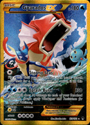 Gyarados EX Secret Rare - 123/122 - BREAKpoint - Card Cavern