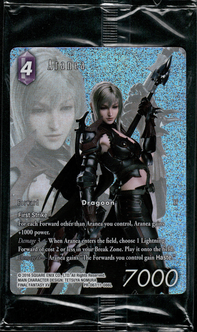 Aranea - PR-067/11-086L - Opus XI - Full Art (Sealed) - Card Cavern