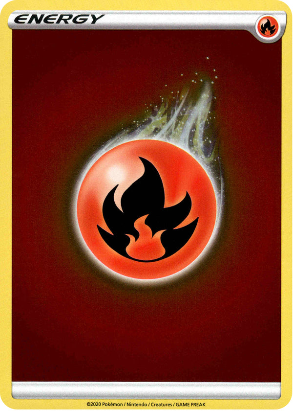 Fire Energy - 2020 - Champion's Path - Reverse Holo - Card Cavern