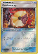 Fire Memory - 123/156 - Ultra Prism - Reverse Holo - Card Cavern
