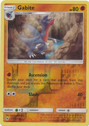 Gabite - 61/131 - Forbidden Light - Reverse Holo - Card Cavern