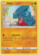 Gible - 60/131 - Forbidden Light - Card Cavern