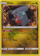 Gible - 97/156 - Ultra Prism - Reverse Holo - Card Cavern