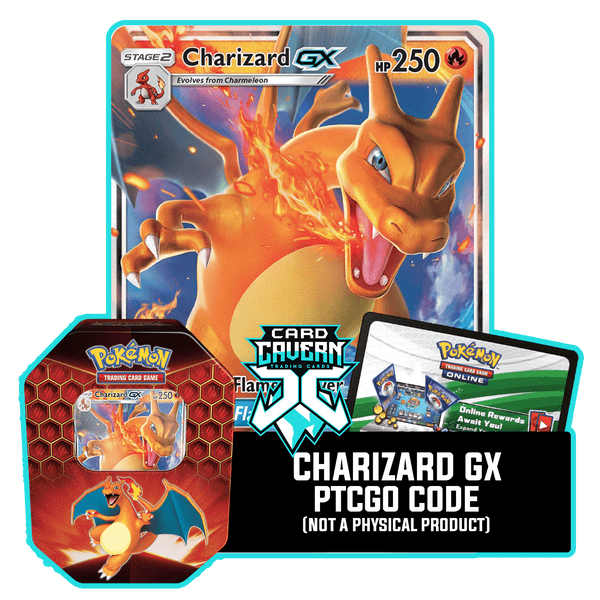 Hidden Fates Tin: Charizard GX - PTCGO Code - Card Cavern