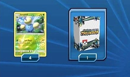 Lost Thunder Season 1 - Jumpluff and Deck Box - PTCGO Code - Card Cavern