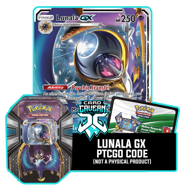 Legends of Alola Tin: Lunala - Lunar Howl Deck - PTCGO Code - Card Cavern