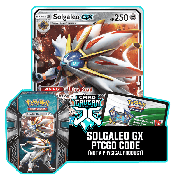Legends of Alola Tin: Solgaleo - Solar Wing Deck - PTCGO Code - Card Cavern